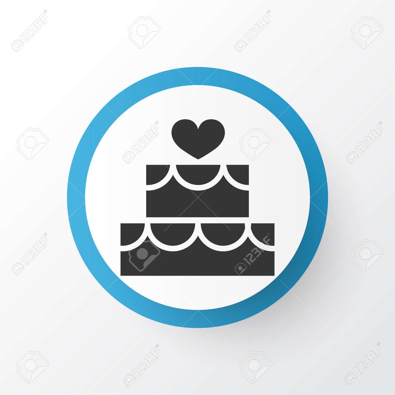 Premium quality isolated pastry element in trendy style cake premium quality isolated pastry element in trendy style cake icon symbol stock vector buycottarizona