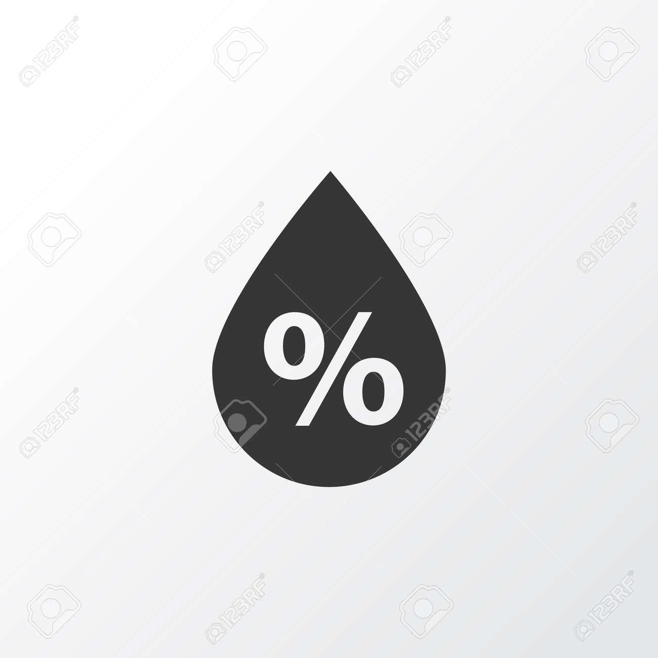 Humidity Icon Symbol. Premium Quality Isolated Moisture Element In Trendy Style. - 84739114