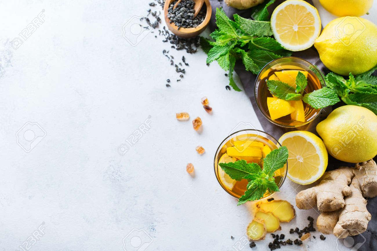 infusion jengibre miel y limon