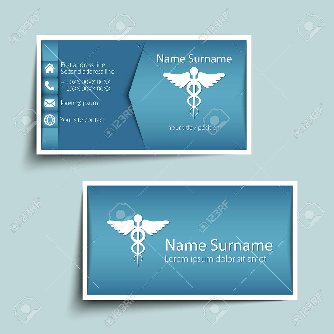 Modern simple business card template royalty free cliparts vectors modern simple business card template stock vector 32510984 friedricerecipe Image collections