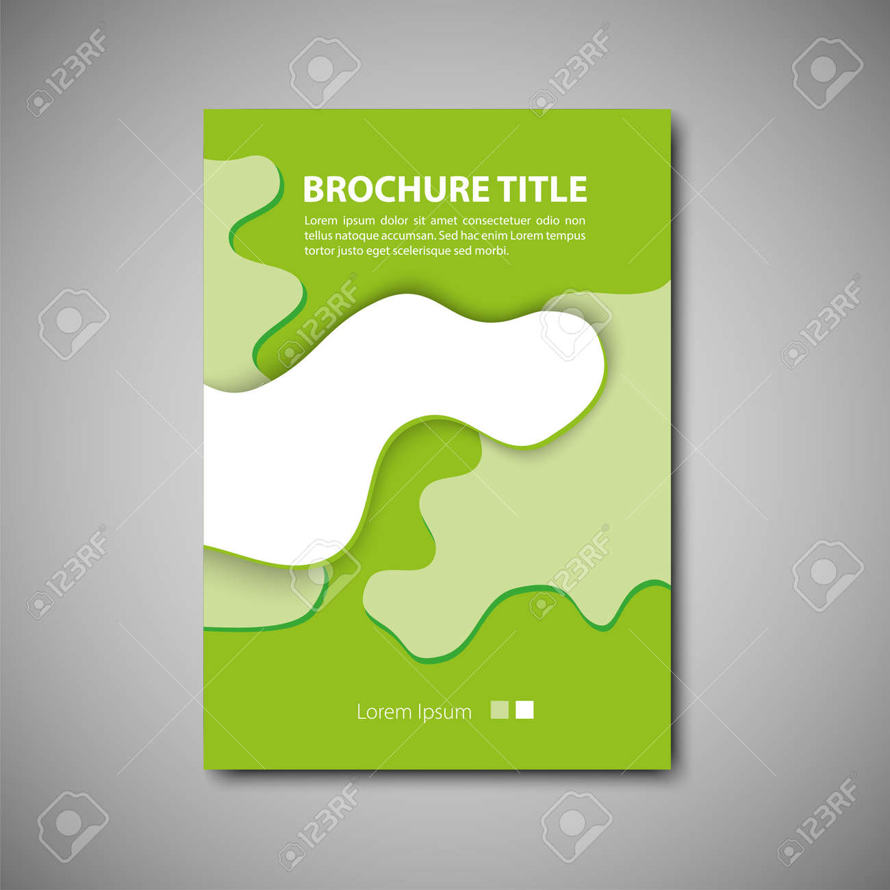 cover brochure template vector format royalty free cliparts