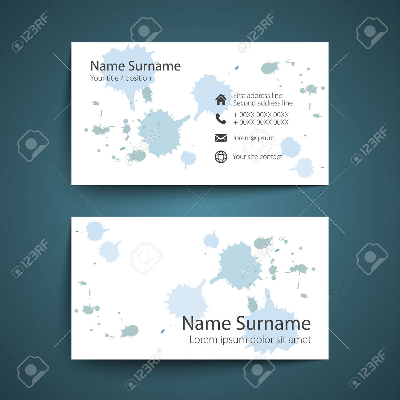 Modern Simple Business Card Set discussion essay topics