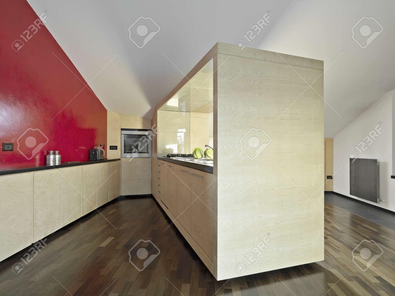Colori Muro Cucina. Parquet Rovere Sbiancato With Colori Muro ...
