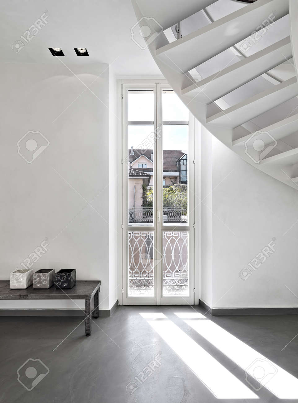 modern living room Standard-Bild - 26945411