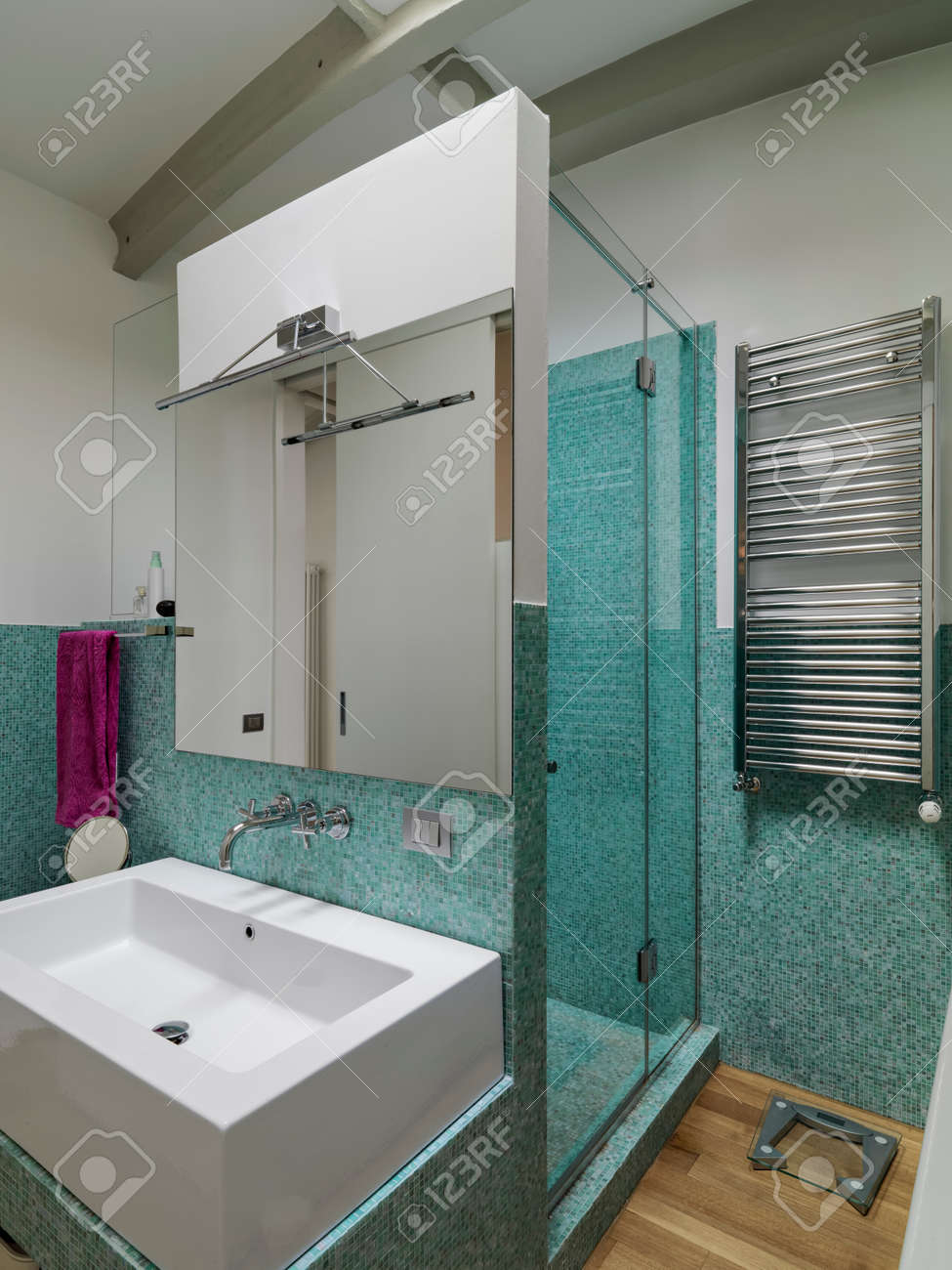 Mosaico Bagno Moderno.Bagni Moderni Mosaico Finest Latest Mosaico Bagno U Idee
