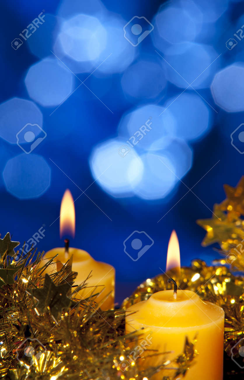 christmas candle Stock Photo - 11274275