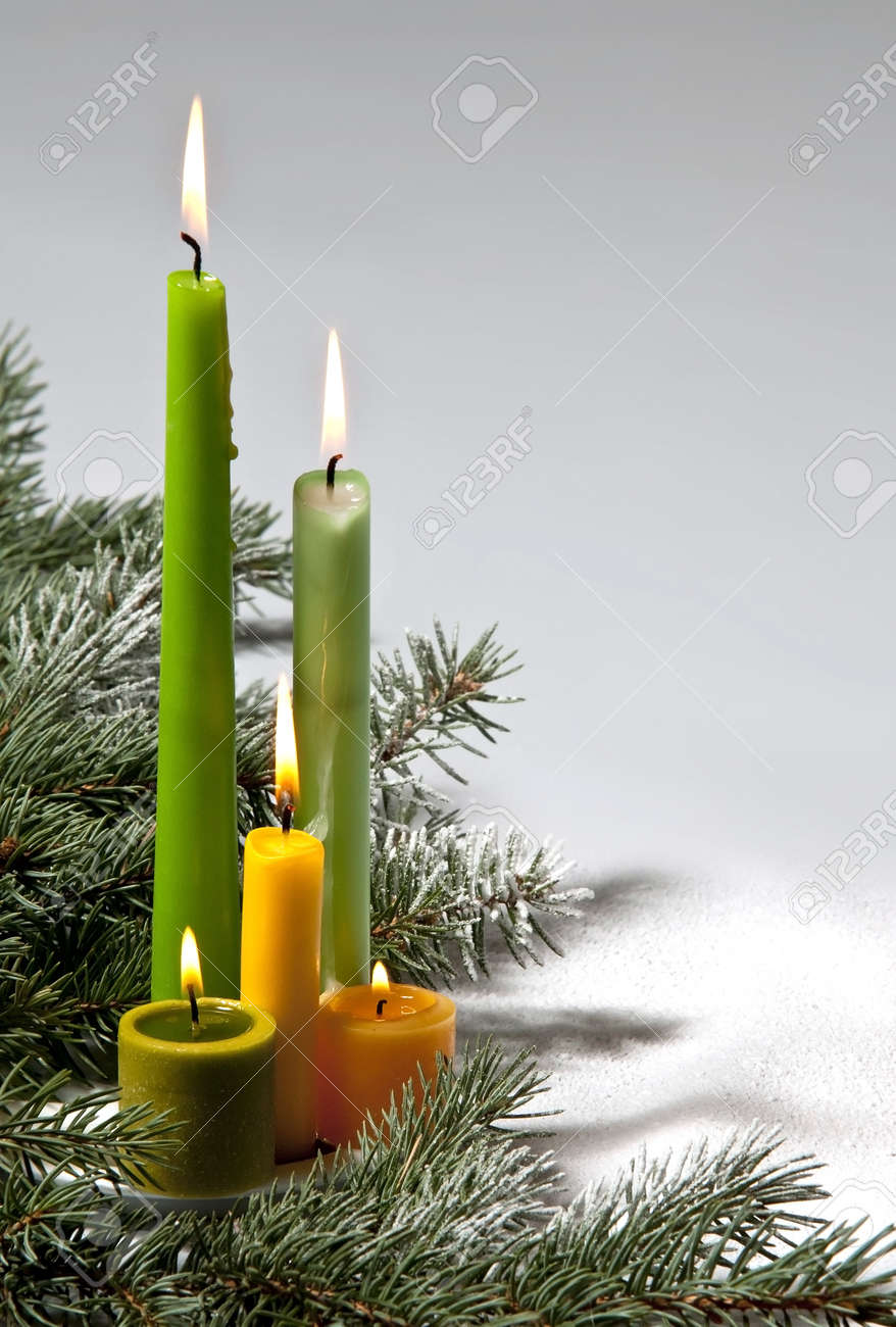 Christmas Candle Images & Stock Pictures. Royalty Free Christmas ...