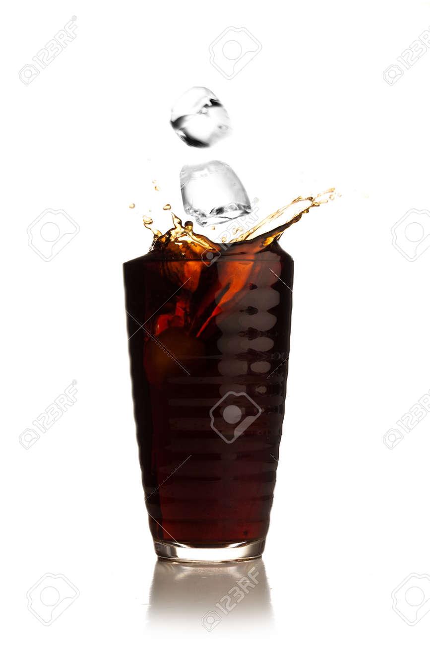 beverage splash Stock Photo - 7787046