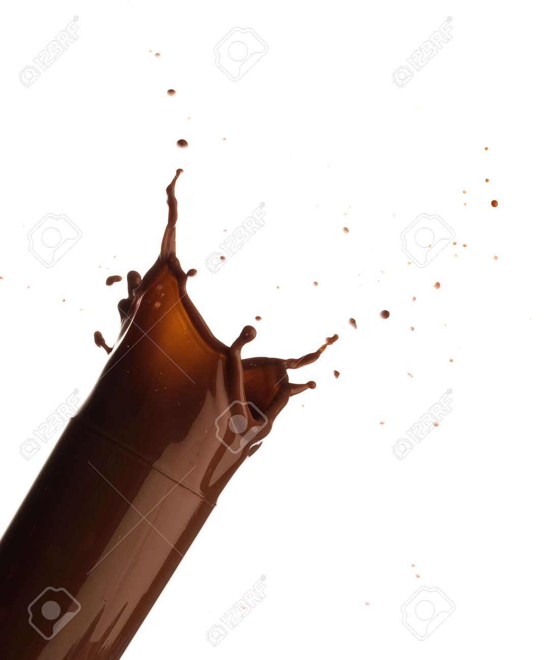 chocolate splash Stock Photo - 7892035