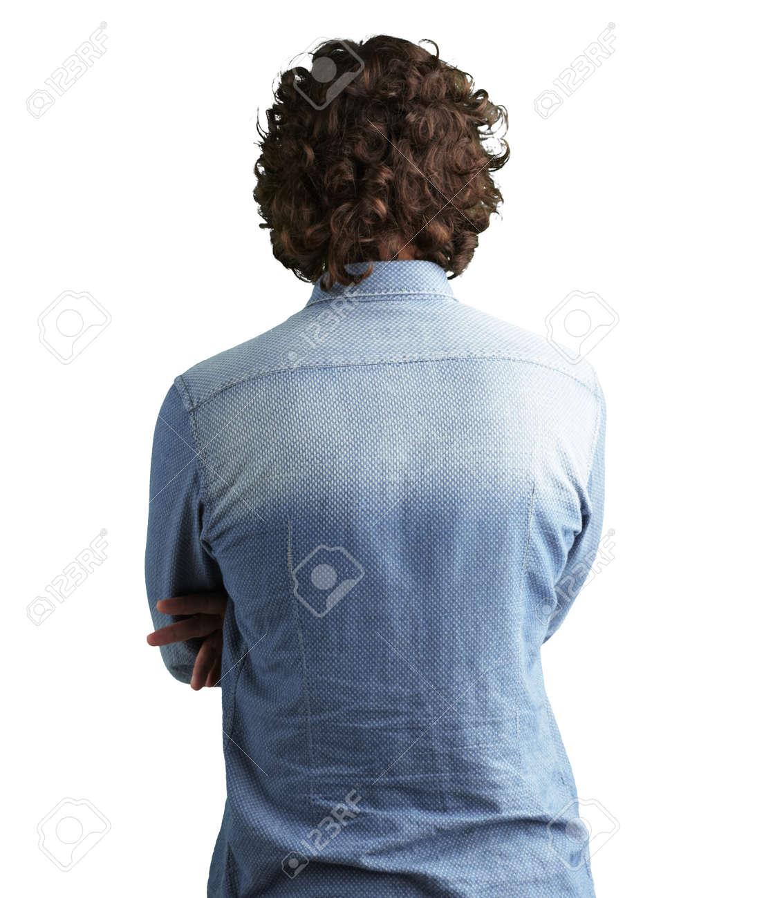 Человек стоящий задом картинка 2 фотография