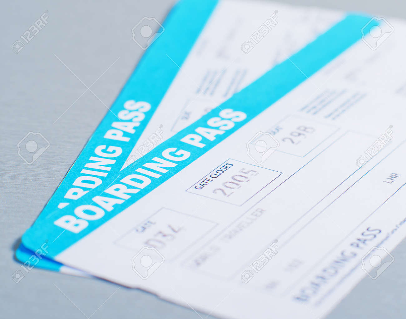 Airline Boarding Pass - 16252826