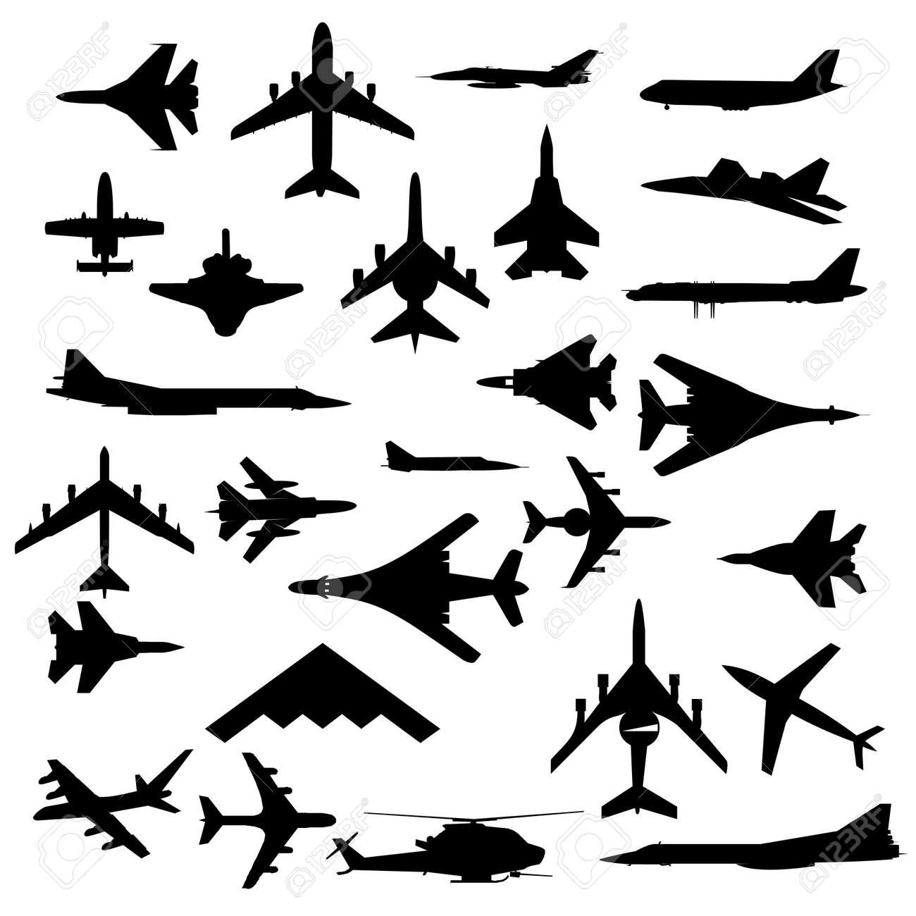 Combat aircraft Stock Vector - 9034058