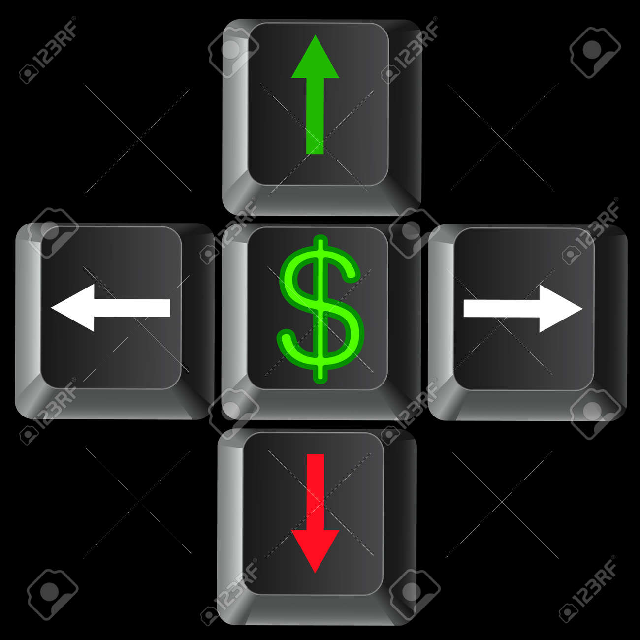 World financial crisis Stock Vector - 10036742