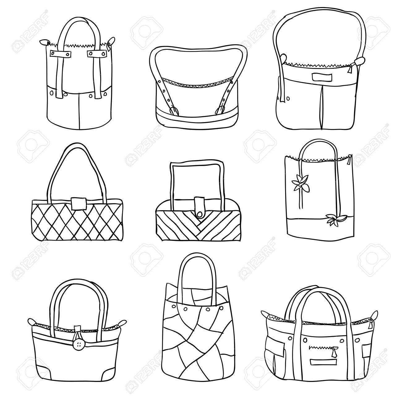vector collection of woman Stock Vector - 10908225