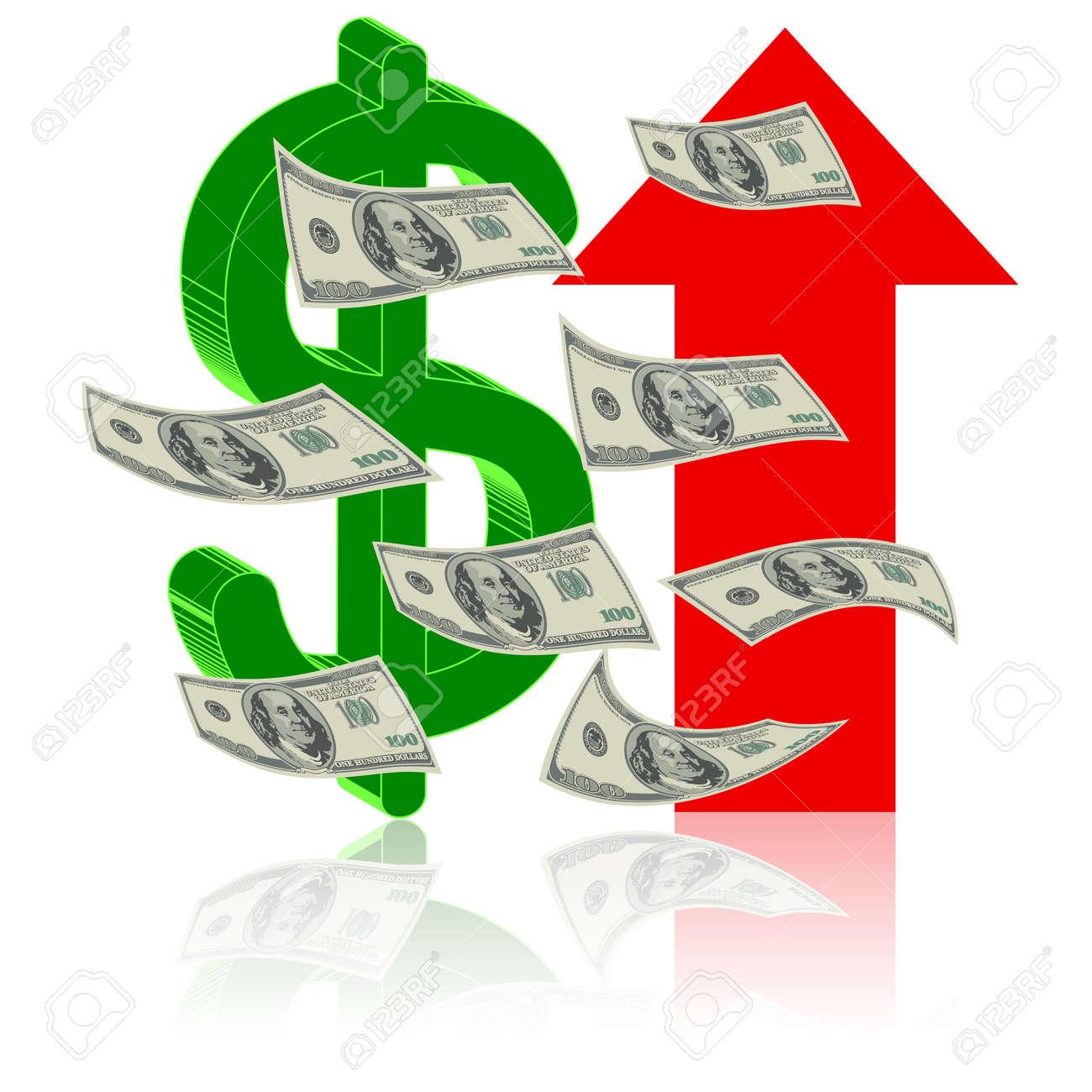 Height finance dollar up arrow symbol symbol of success height finance dollar up arrow symbol symbol of success stock vector 14375178 buycottarizona Images
