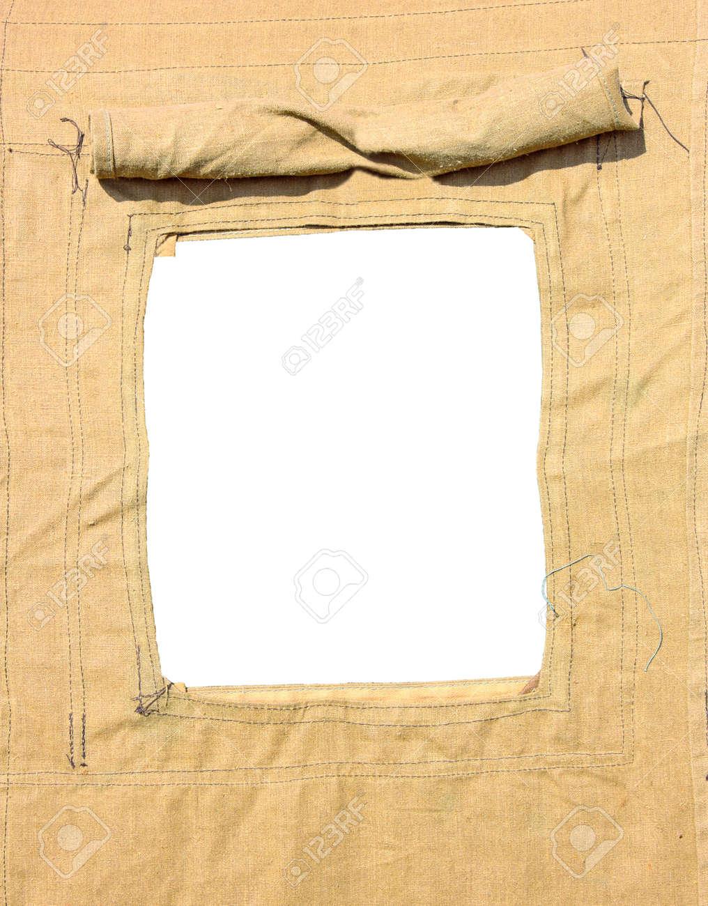 Fenster, Militär Zelt Als Rahmen Lizenzfreie Fotos, Bilder Und Stock ...