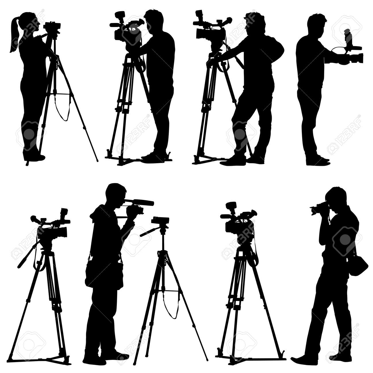 11,408 Tripod Stock Illustrations, Cliparts And Royalty Free ... for Camera Equipment Clipart  55dqh