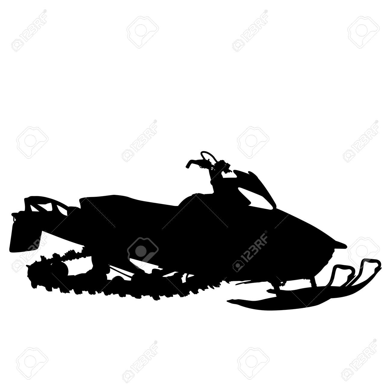 155 Snowmobiling Stock Vector Illustration And Royalty Free ...