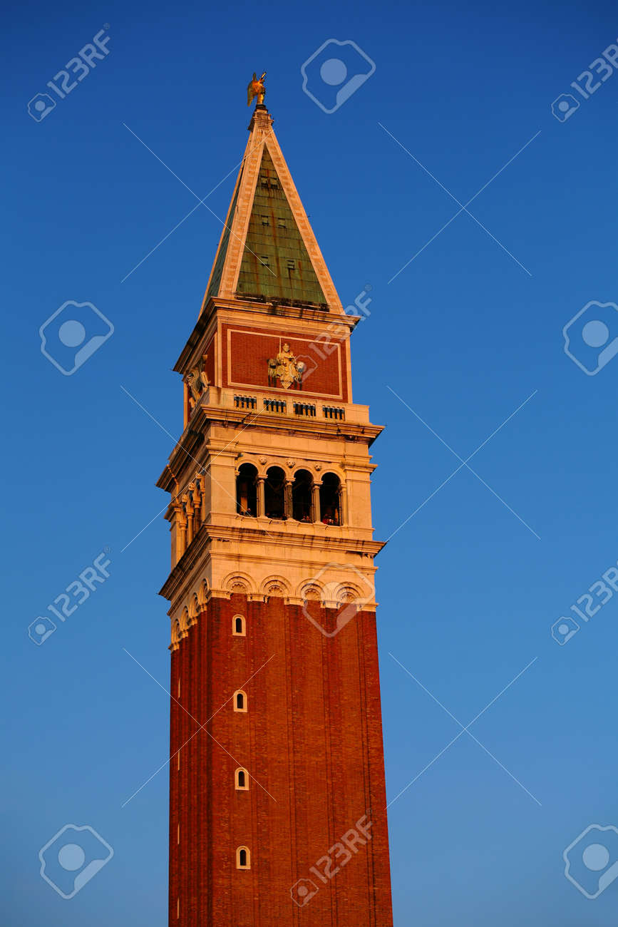 Campanile Di San Marco - Bell Tower On Piazza San Marco - Central ...