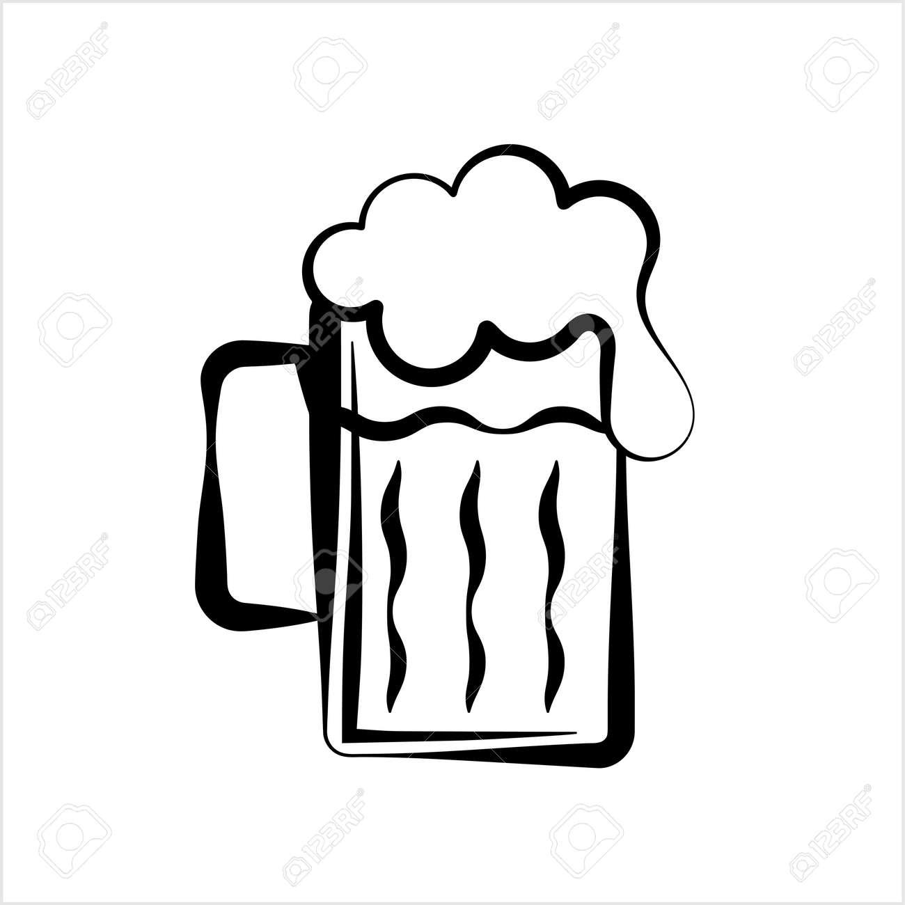 Beer Mug Icon Vector Art Illustration Royalty Free Cliparts Vectors And Stock Illustration Image 147817791