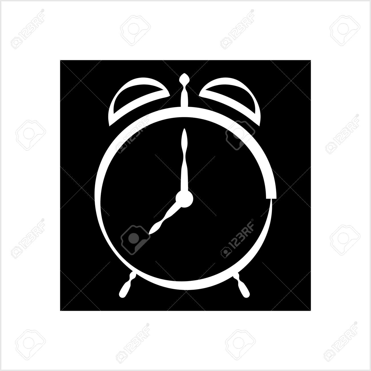 Alarm Clock Icon Vector Art Illustration - 149570947