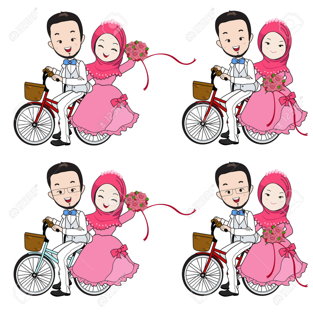 785cbd7cab Muslim Wedding Cartoon