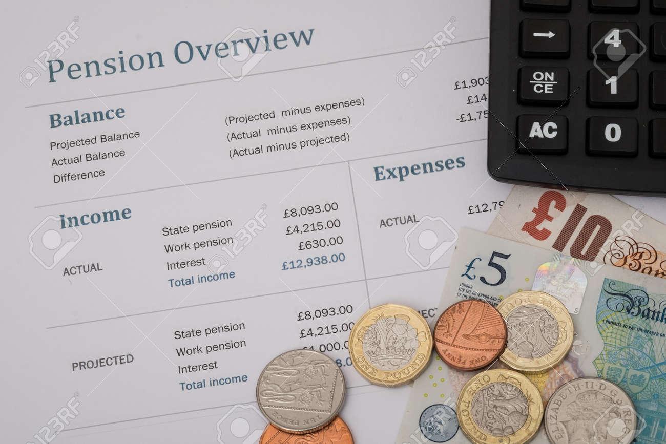Examen Des Retraites Avec Les Chiffres De Pension De L Etat Britannique Pour 2017