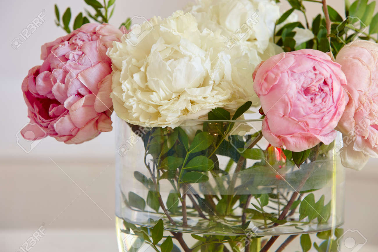 Withered flowers in a vase pink and white color horizontal stock stock photo withered flowers in a vase pink and white color horizontal mightylinksfo