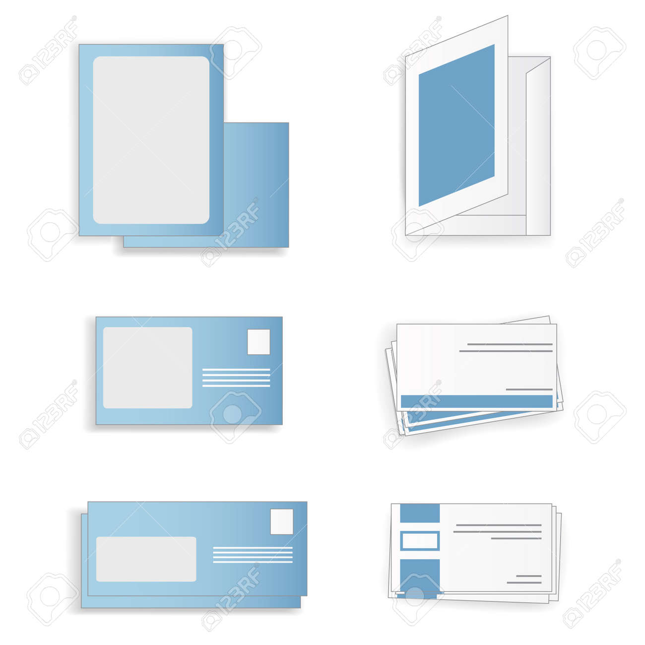 a set of  objects for business Stock Vector - 15487672
