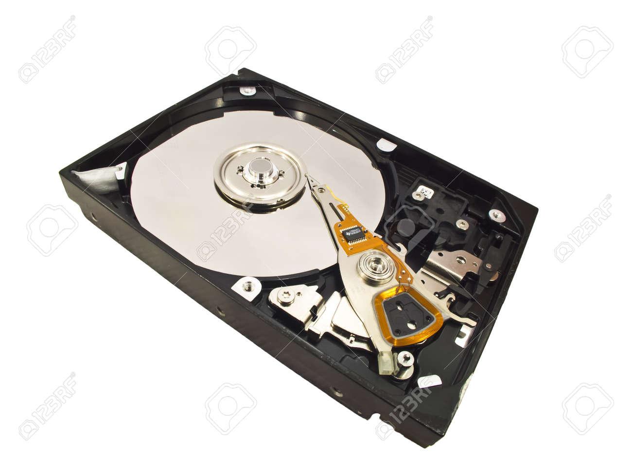 hard disk isolated on white background Stock Photo Stock Photo - 12613528
