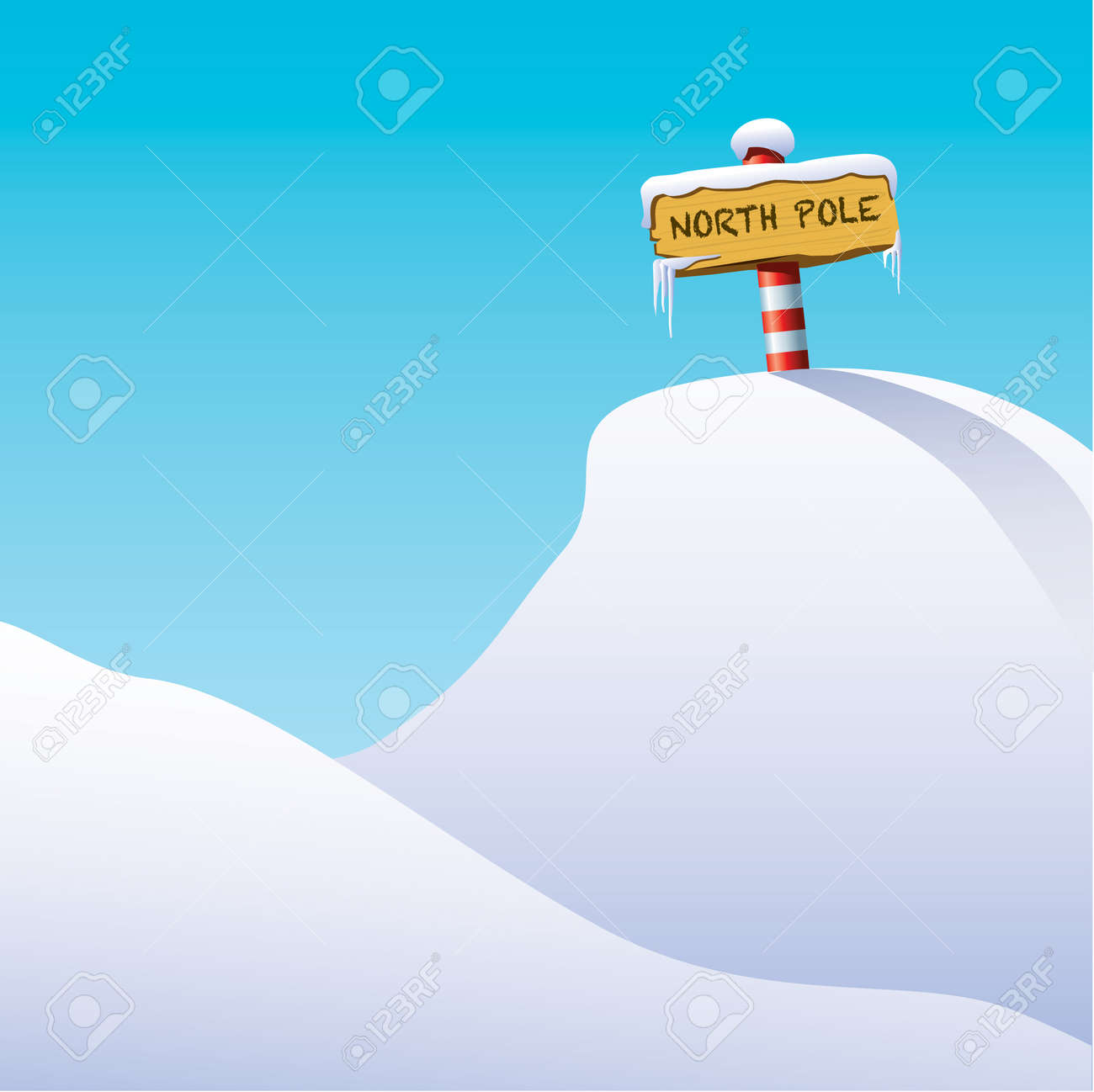 North Pole Stock Vector - 8471683