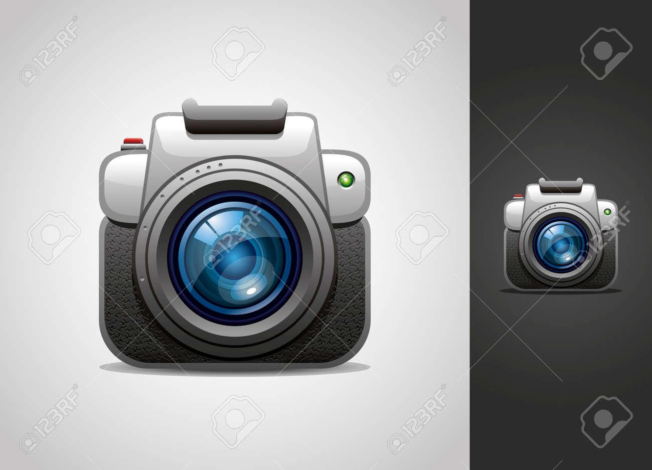 camera icon Stock Vector - 13568158
