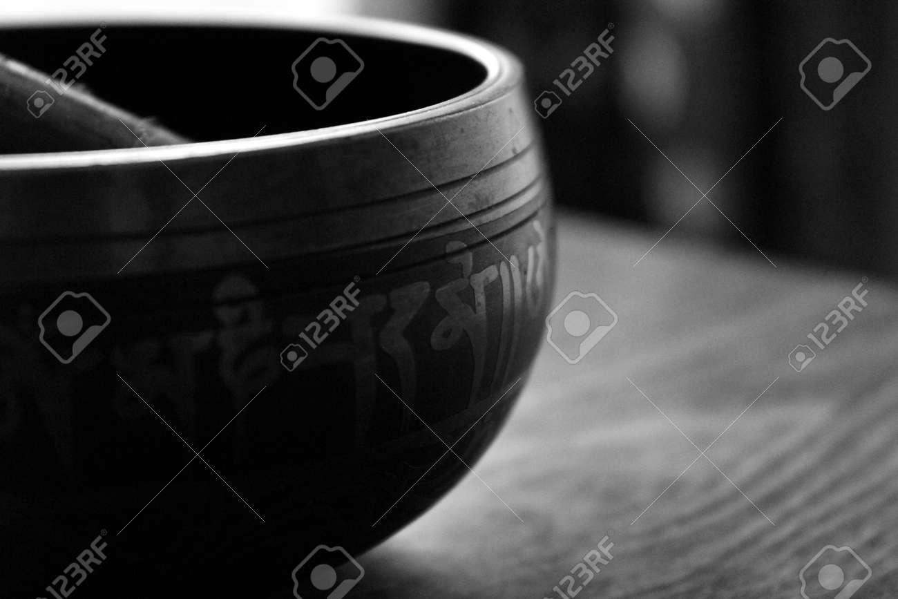 Tibetan Singing Bowl Stock Photo - 11563900