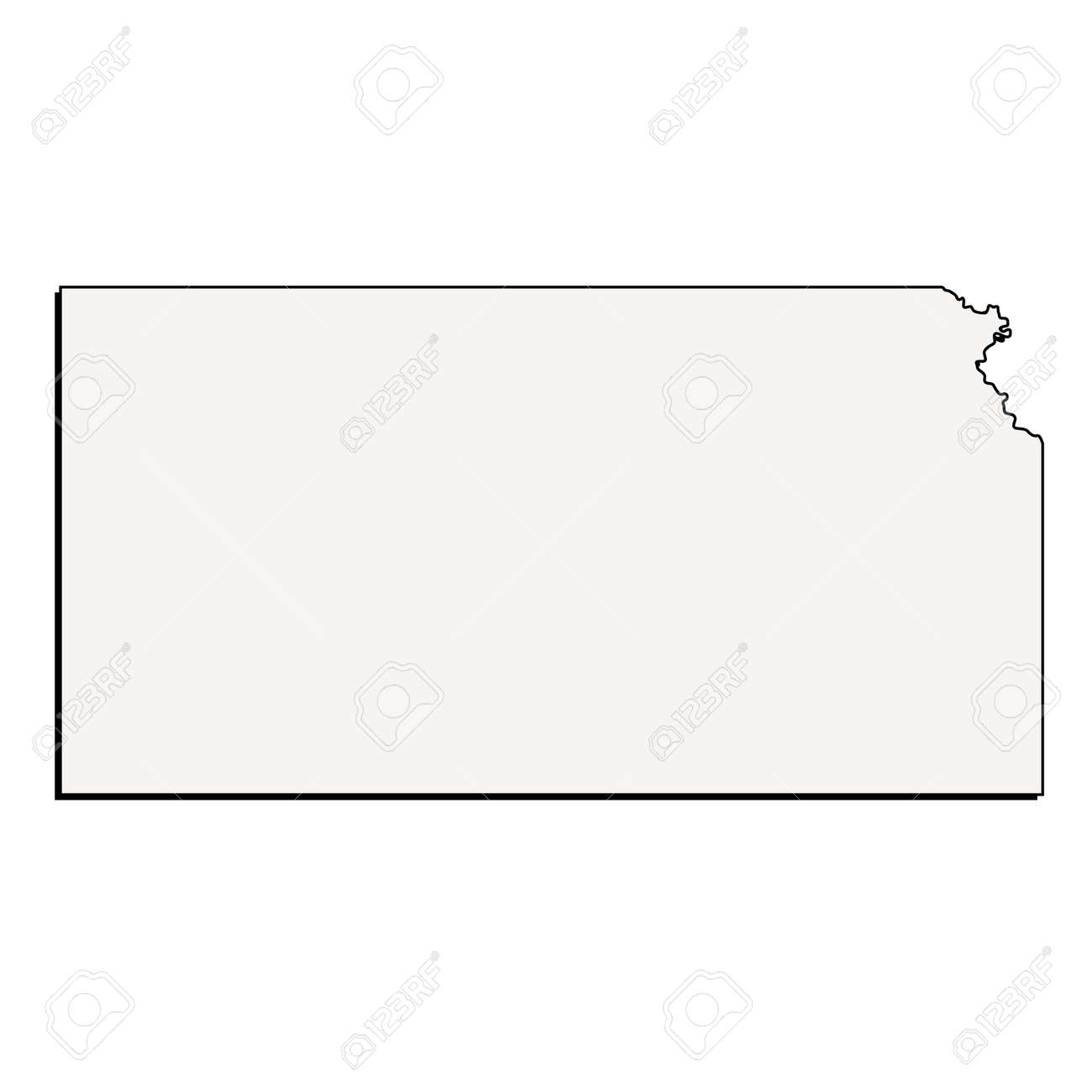 Vector Kansas State 3D Outline Map on friend kansas map, iowa kansas map, wichita kansas map, google kansas map, zip code kansas map, downtown kansas city map, old kansas city map, cartoon kansas map, vintage kansas map,