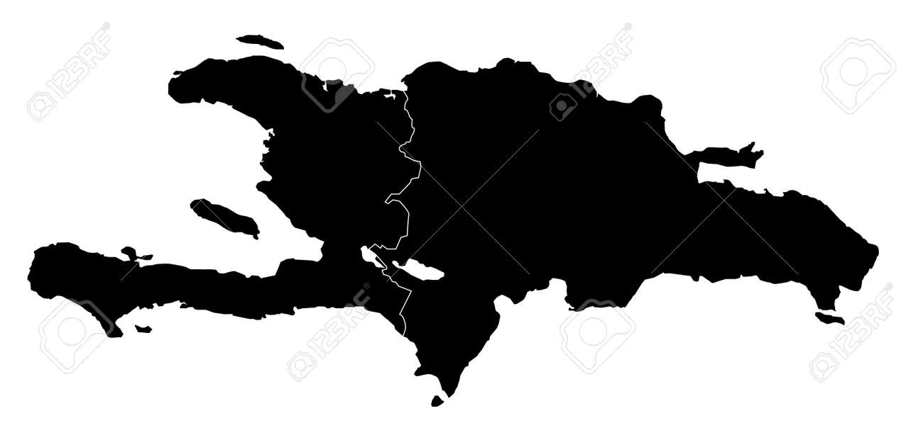 Vector hispaniola accurate map with haiti and dominican republic vector hispaniola accurate map with haiti and dominican republic stock vector 85535982 gumiabroncs Gallery