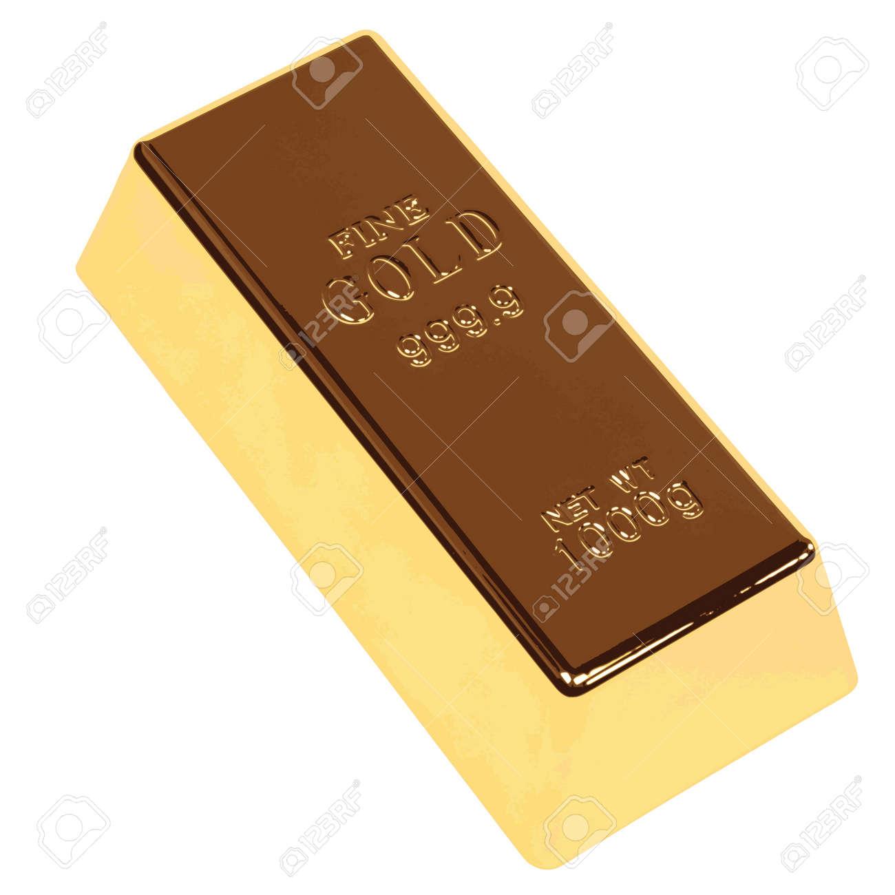Gold Bar Fine Gold Bar