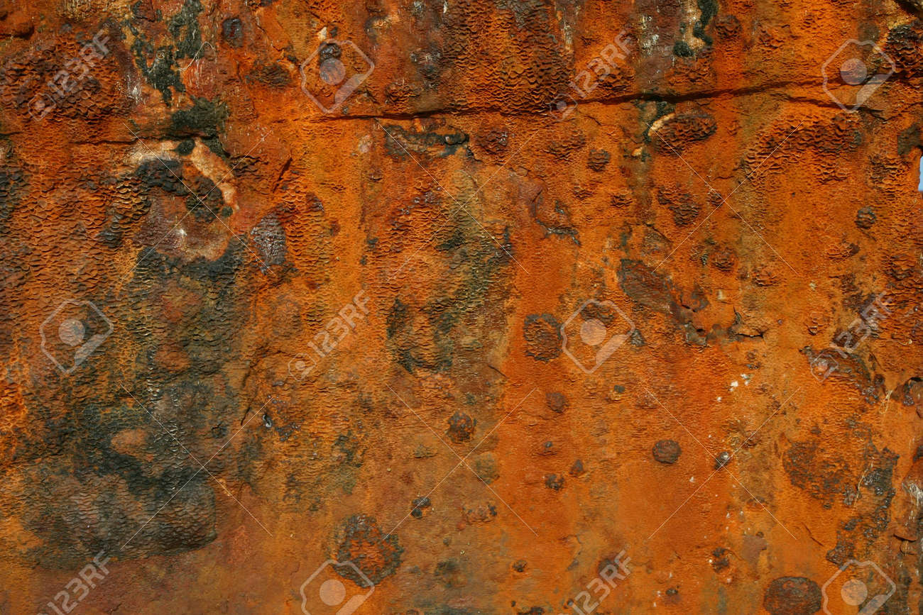 Rust from a wrecked ship Stock Photo - 562322