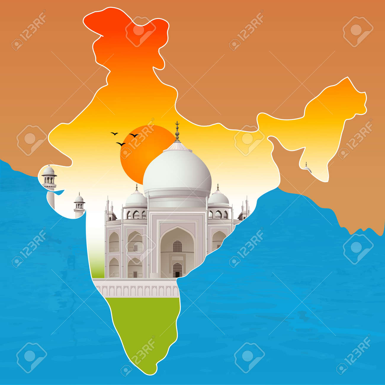 9 300 map of india stock illustrations cliparts and royalty free