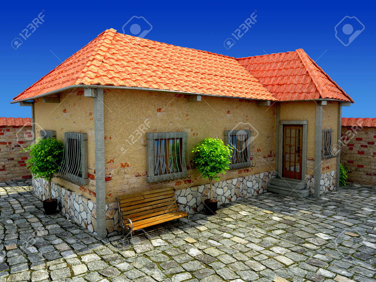 old house Stock Photo - 16774338