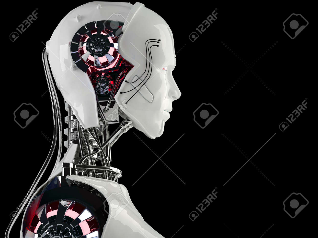 robot android men Stock Photo - 16774225