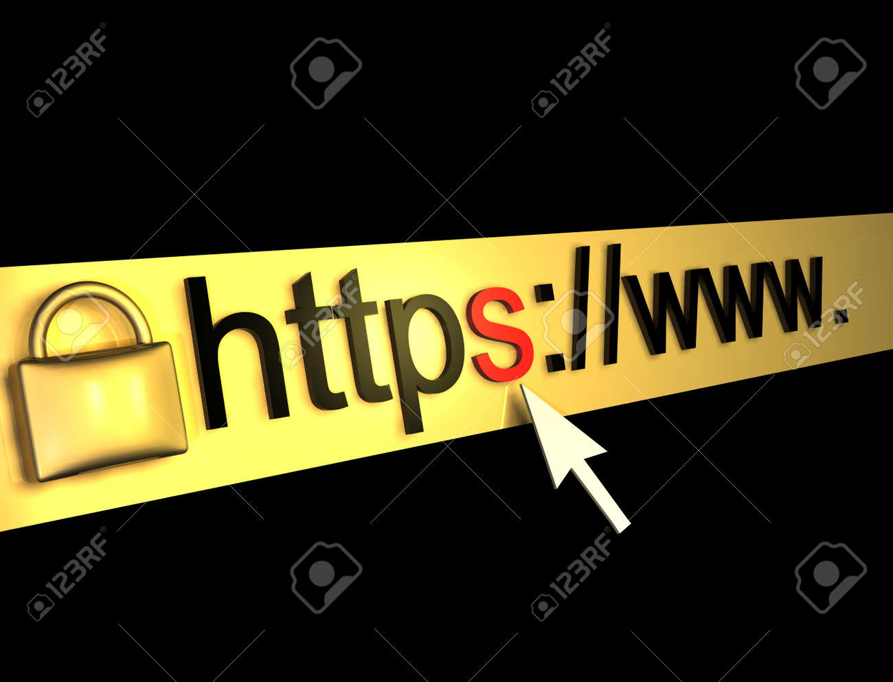 https protected web pagebackground Stock Photo - 16774350