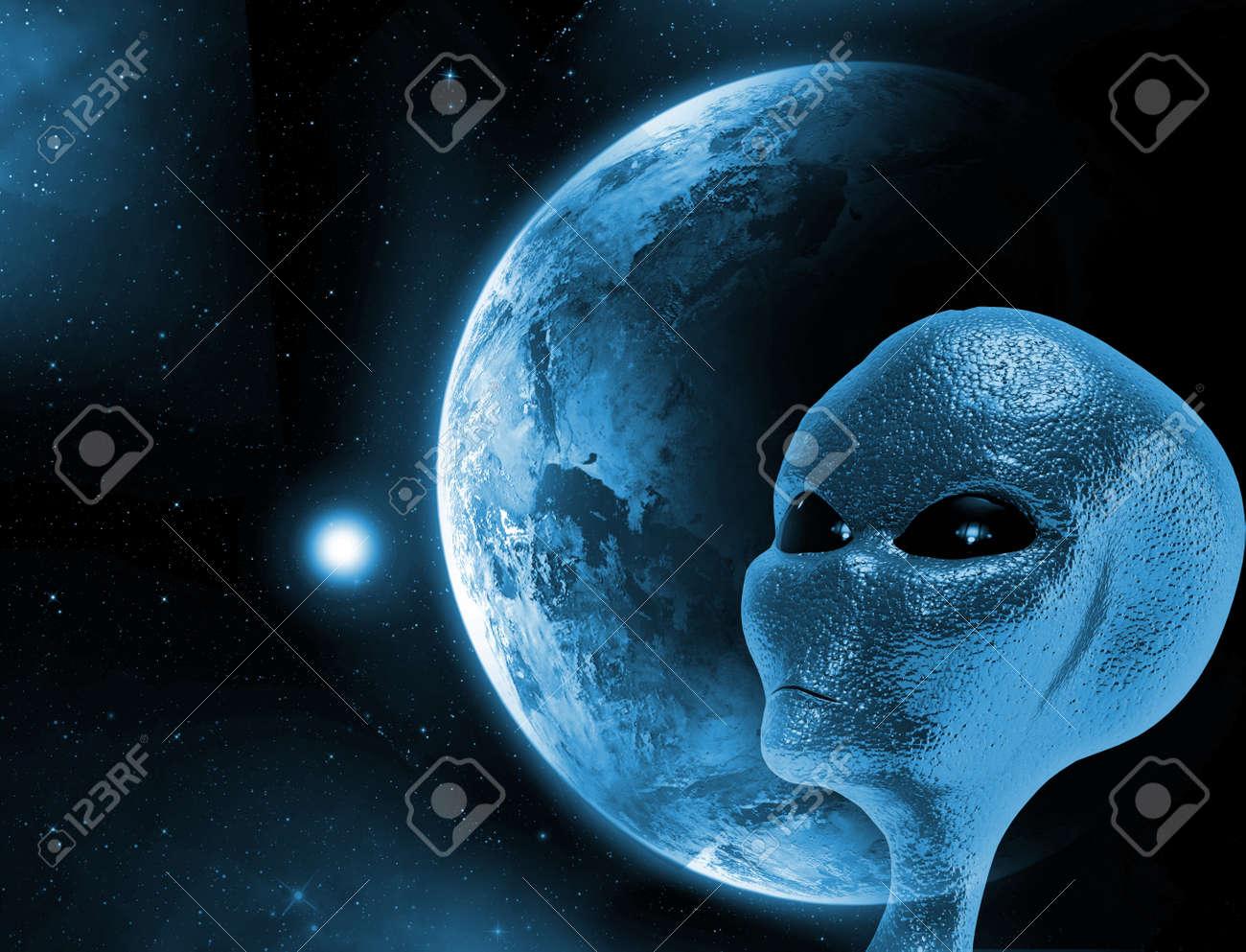 Alien planet images