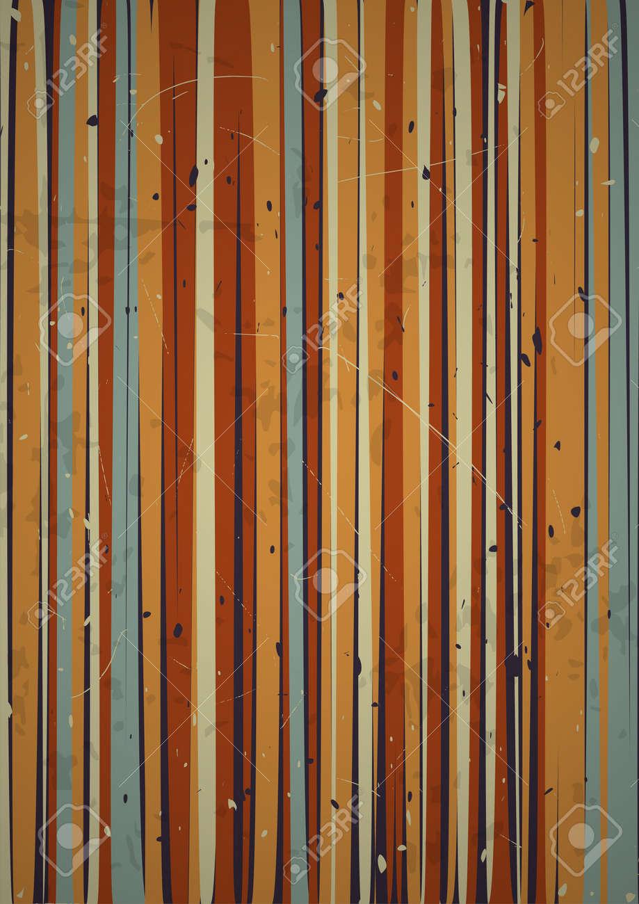 Retro vertical stripes background  EPS10 vector Stock Vector - 16169262