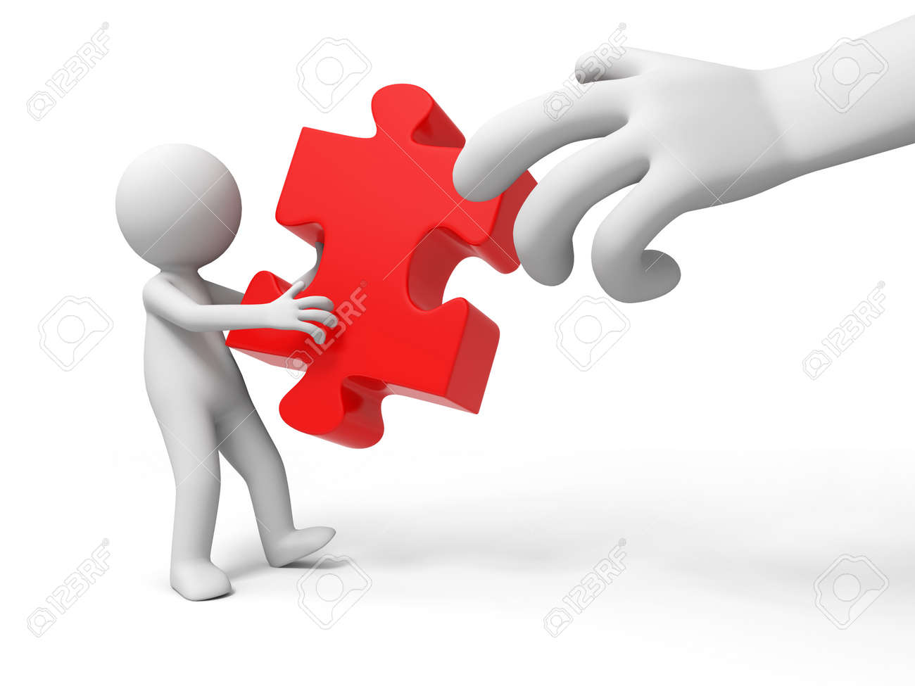 puzzle jigsaw a people is holding a jigsaw stock photo picture