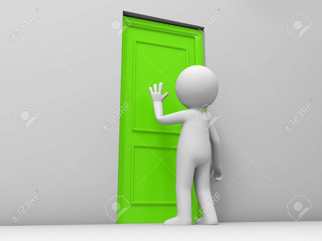 Door A person knock at a door Stock Photo - 15458188 : knock door - Pezcame.Com