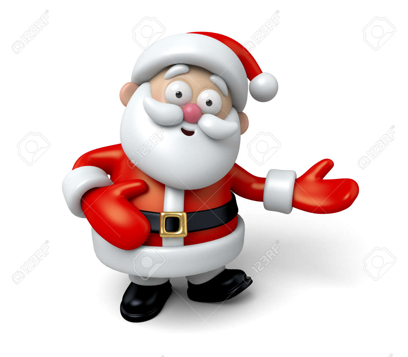 The Santa Claus makes a personalized gesture - 47549409