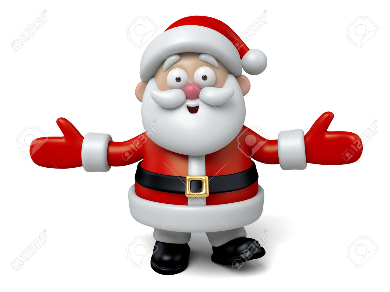 The Santa Claus makes a personalized gesture - 47554562