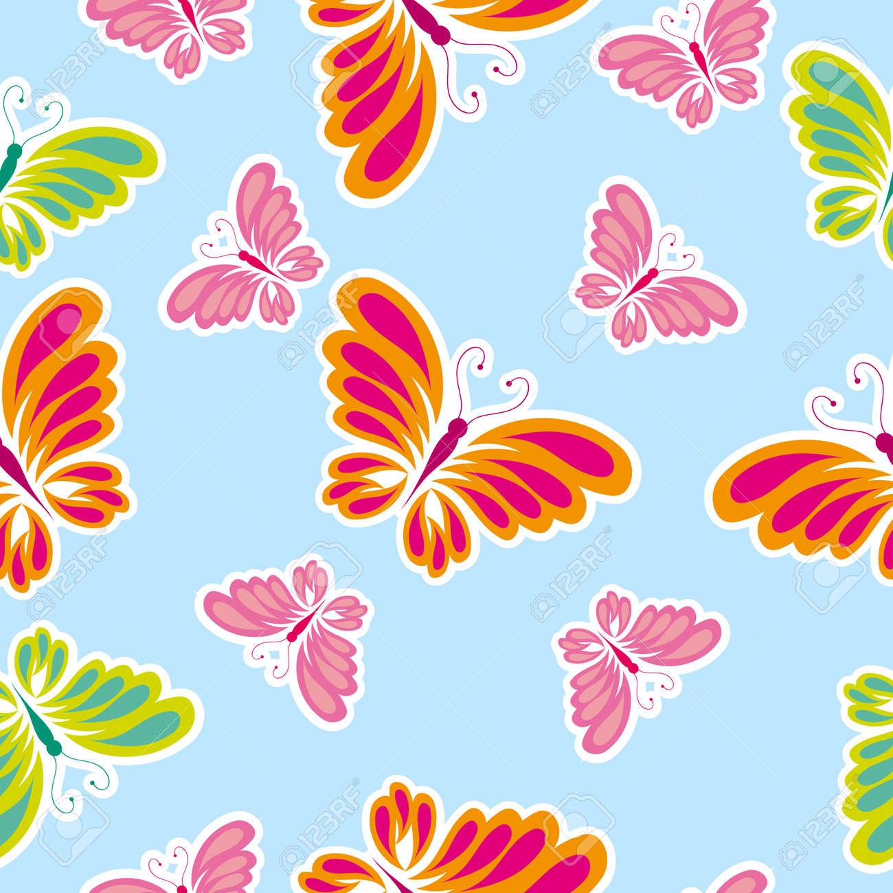 butterfly, butterflies, vector Stock Vector - 17303800