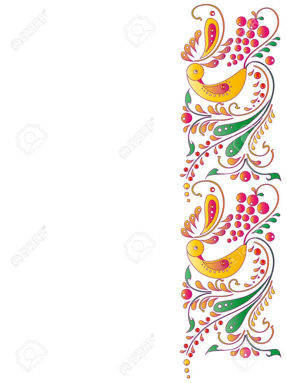 flowers card vector Stock Vector - 17303752
