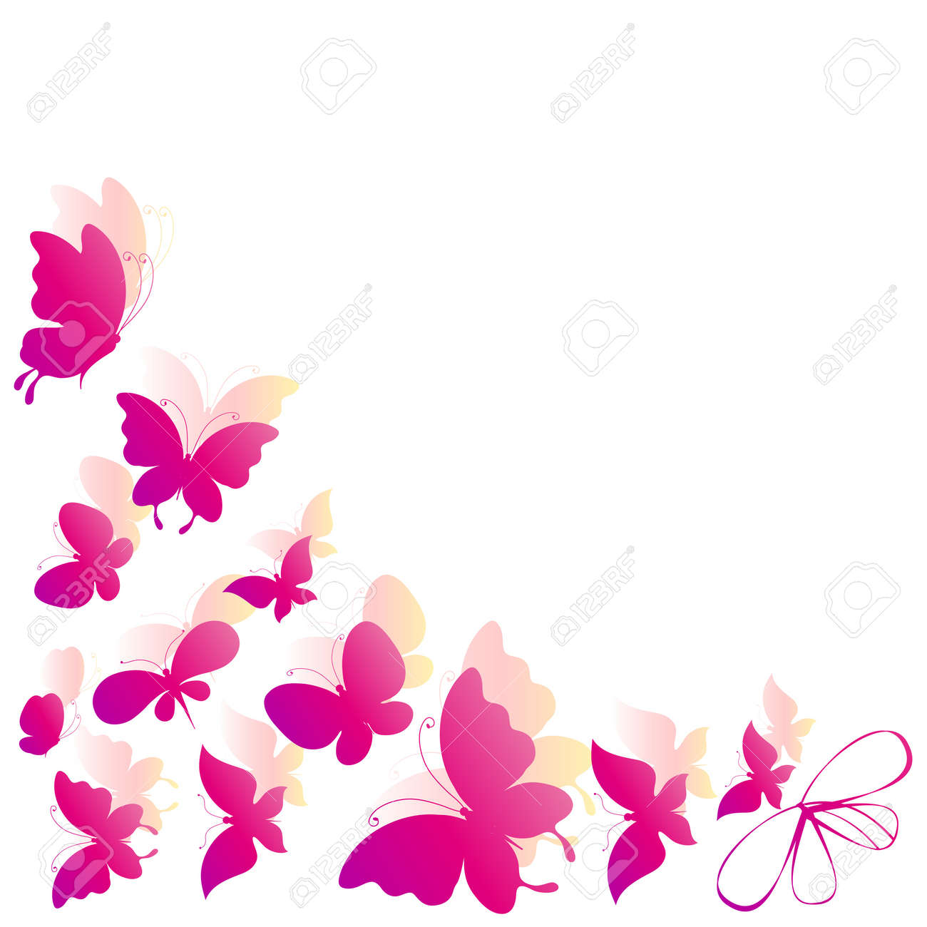Pink butterfly vector background hd wallpapers pink butterfly vector - Butterfly Butterfly Butterflies Vector